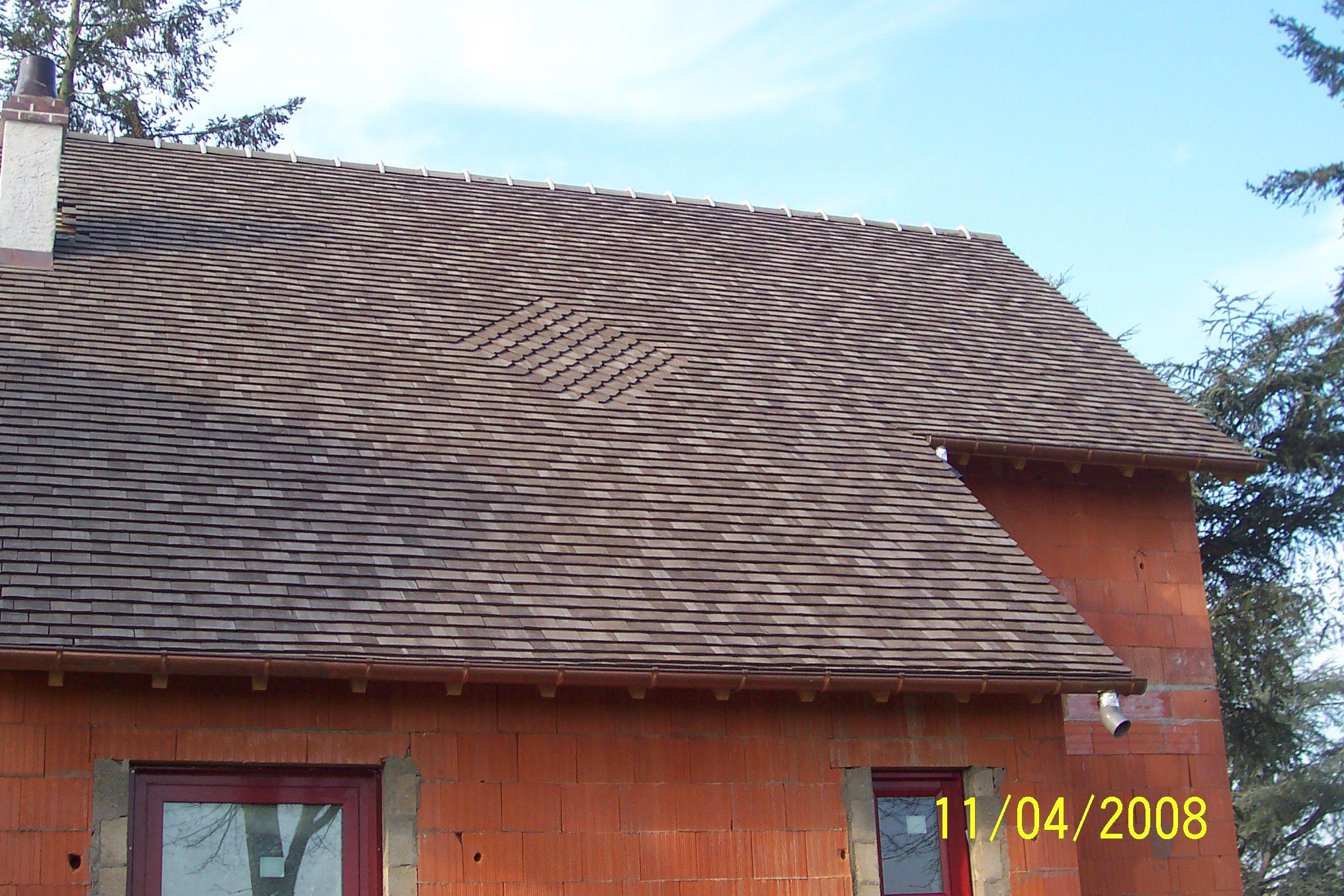 toiture tuile plate affordable toitures domaine specialiste couverture dijon cote d or. Black Bedroom Furniture Sets. Home Design Ideas